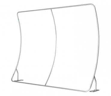 ZIPPER Wall Curved – System